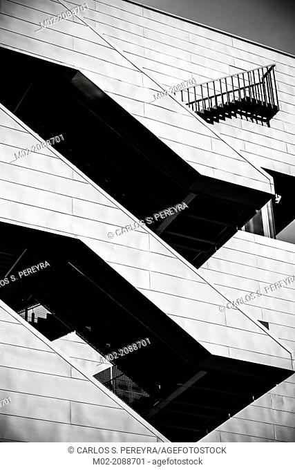 Disseny Hub Barcelona museum, Barcelona, Catalonia, Spain