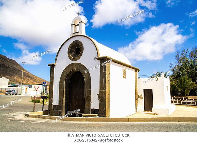 San Isidro hermit in in Galdar municipality. Gran Canaria island
