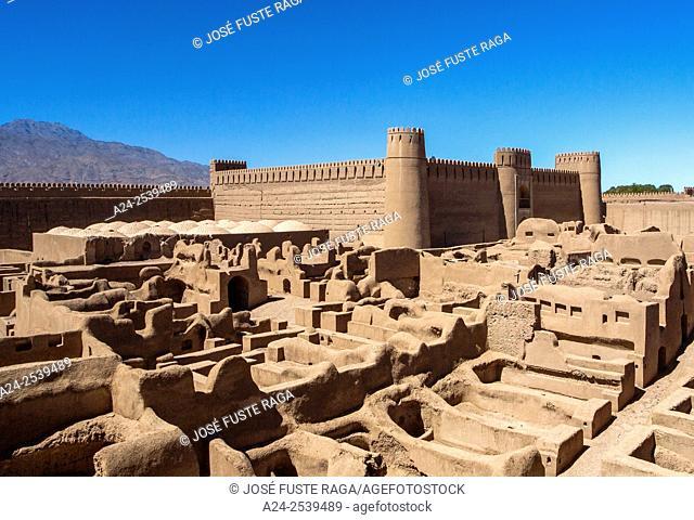 Iran, Rayen City, Arg-e-Rayen , Raen Citadel, gobernor's palace