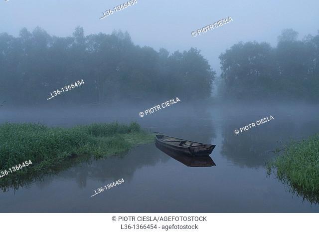 Bug river in Mielnik  Eastern Poland