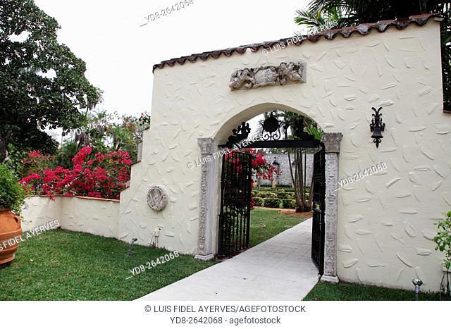 Spanish Monastery in Miami, Florida, USA