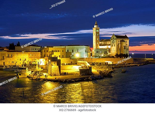 Trani Cathedral is a Roman Catholic cathedral dedicated to Saint Nicholas the Pilgrim in Trani, Apulia, Italy. Formerly the seat of the archbishop of Trani