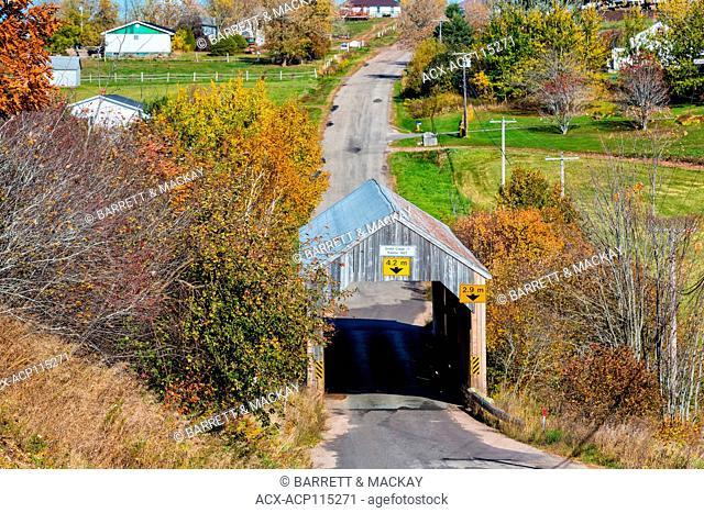 Smith Creek #1 Covered bridge, Tranton, New Brunswick, Camada