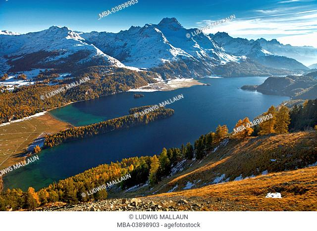 Switzerland, Canton of Grisons, Silsersee