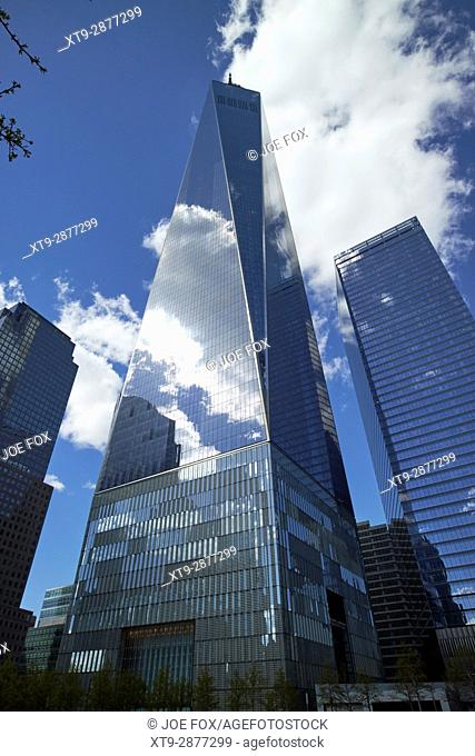 one world trade center building New York City USA