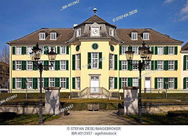 Industial museum Cromford, mansion, Ratingen, North Rhine-Westphalia, Germany