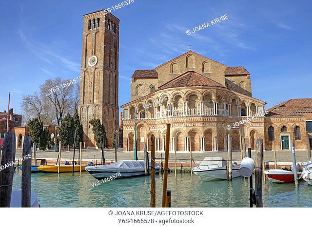 Basilica of Santa Maria e San Donato, Murano, Veneto, Italy