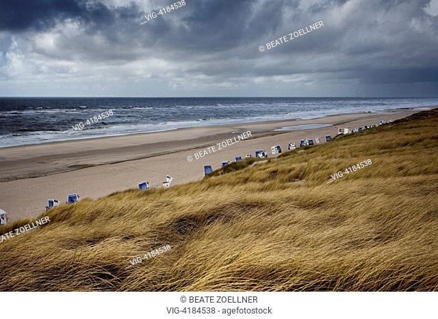 No beach weather - Sylt, Schleswig-Holstein, Germany, 15/05/2011