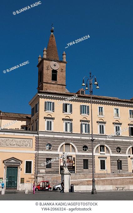 Il Genio di Leonardo da Vinci Museo - The Genius of Leonardo da Vinci at Church Santa Maria, Piazza del Popolo, Rome, Italy