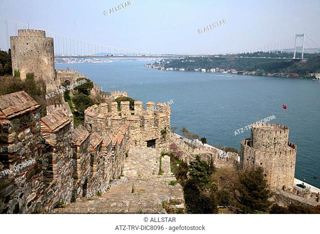 THE FORTRESS OF EUROPE & THE BOSPHORUS; ISTANBUL, TURKEY; 04/04/2008