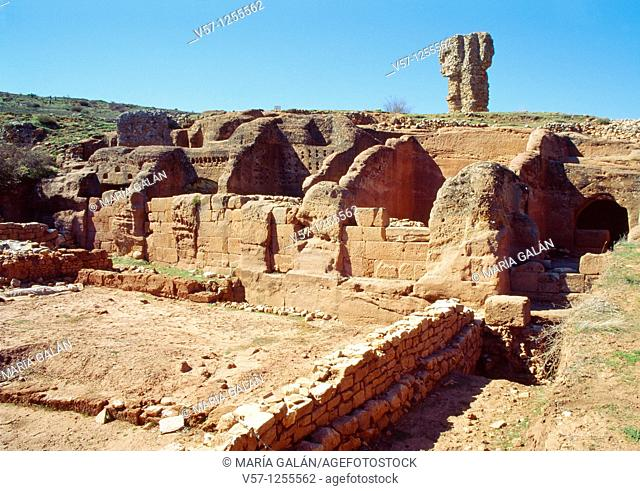 Celtiberic archaeological site of Tiermes. Soria province, Castilla León, Spain