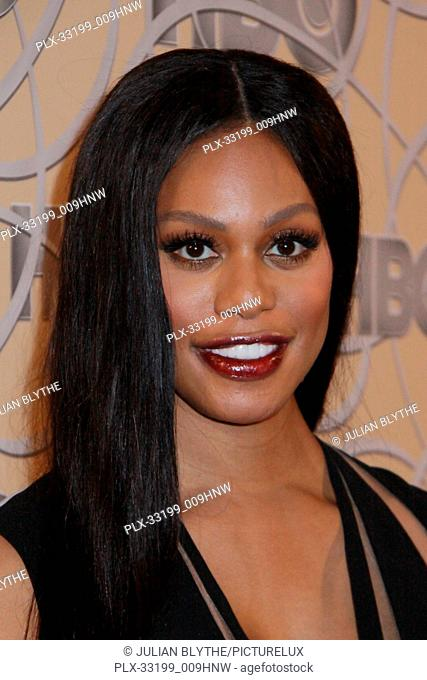 Laverne Cox 12/7/2016 HBO 74th Golden Globe Awards after party at the Beverly Hilton in Beverly Hills, CA Photo by Julian Blythe / HNW / PictureLux