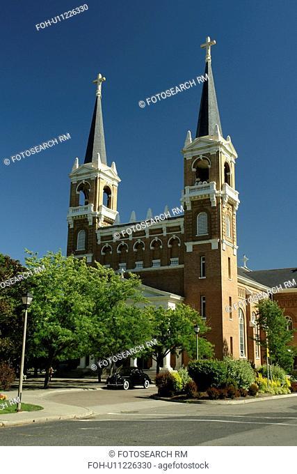 Spokane, WA, Washington, Gonzaga University, St. Aloysius Church