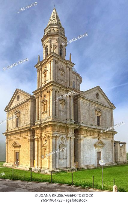 Sanctuary San Biagio in Montepulciano, Tuscany, Italy