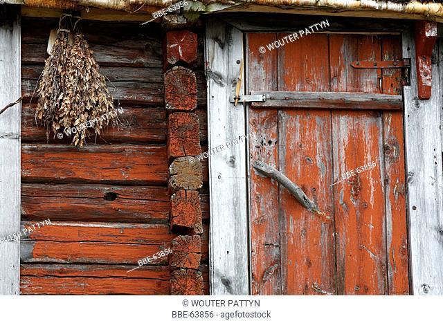 Saami house, Lapland, Finland, Scandinavia