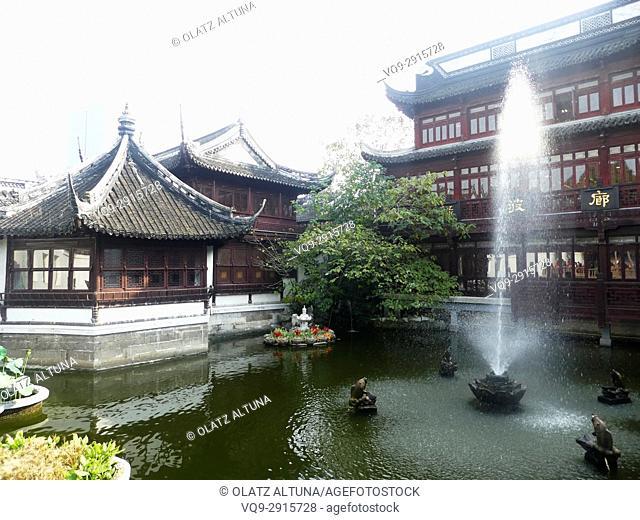Shanghai Yuyuan, old town, China, Asia