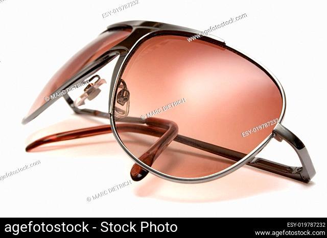 Sonnenbrille Seitenansicht