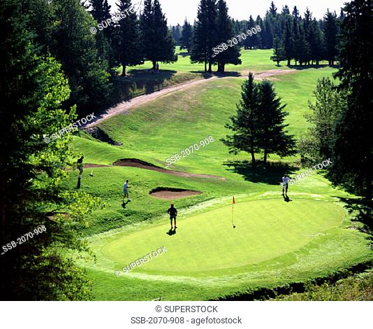Clear Lake Golf Course Riding Mountain National Park Manitoba Canada