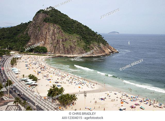 Leme Beach and Leme Fort; Rio de Janeiro, Brazil