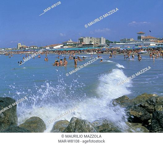 italy, tuscany, versilia, marina di massa