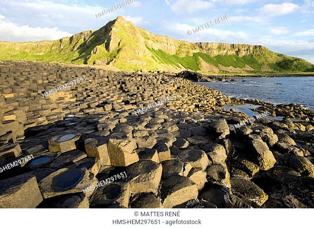 United Kingdom, Northern Ireland, Ulster, Antrim County, Giants Causeway and its coast, listed as World Heritage by UNESCO