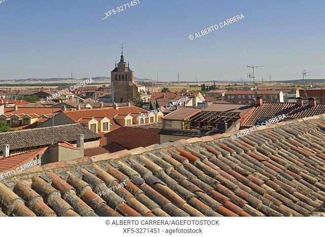 Town View, Tordesillas, Valladolid, Castilla y León, Spain, Europe