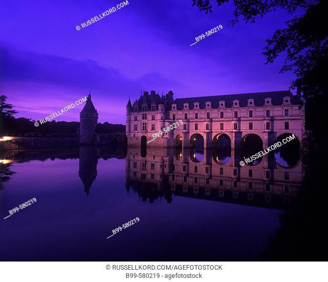Chateau Chenonceau, Indre-et-loire, France