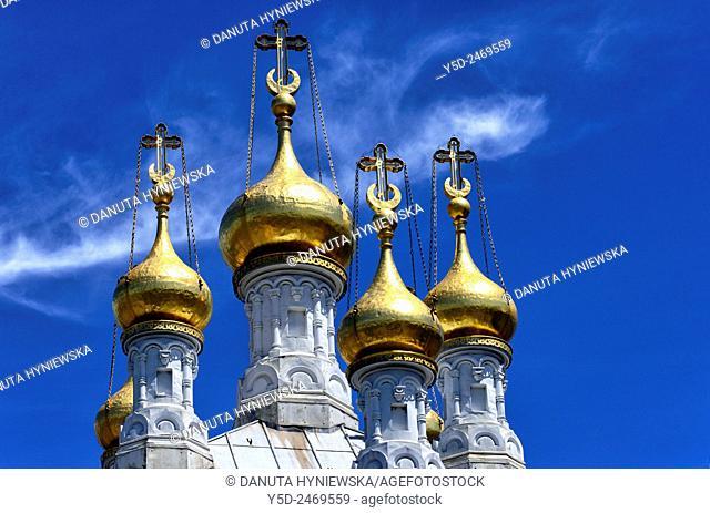 Europe, Switzerland, Geneva, Russian ortodox church