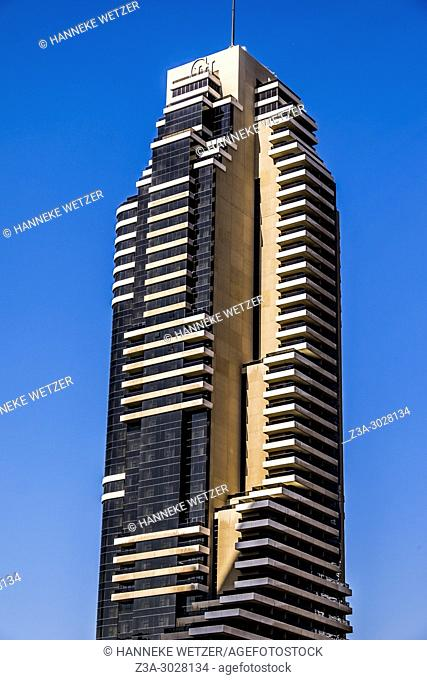 Supertall skyscraper at Dubai Marina, Dubai, UAE