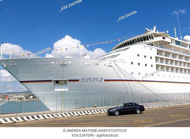 Cruise ship port transfer pick up. Civitavecchia Italy