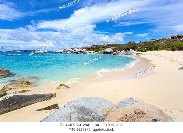 Devil's Bay in the Baths on the Caribbean Island of Virgin Gorda in the British Virgin Islands