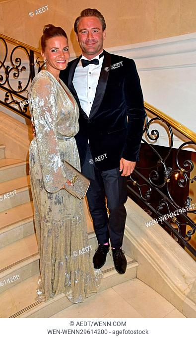 Dreamball 2016 at The Ritz Carlton Hotel at Potsdamer Platz square. Featuring: Sasha, Julia Roentgen Where: Berlin, Germany When: 29 Sep 2016 Credit: AEDT/WENN