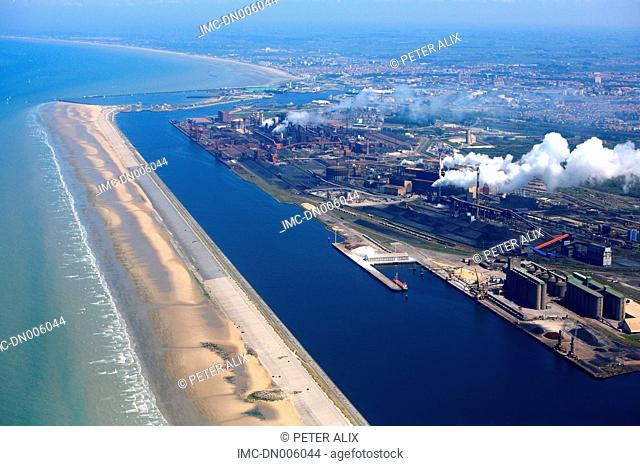 France, Nord, Dunkirk, the port