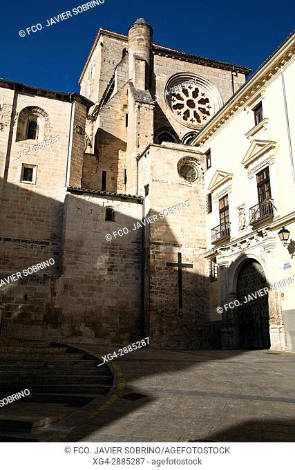 Catedral y Palacio Episcopal. Cuenca. Castilla La Mancha. España. Europa