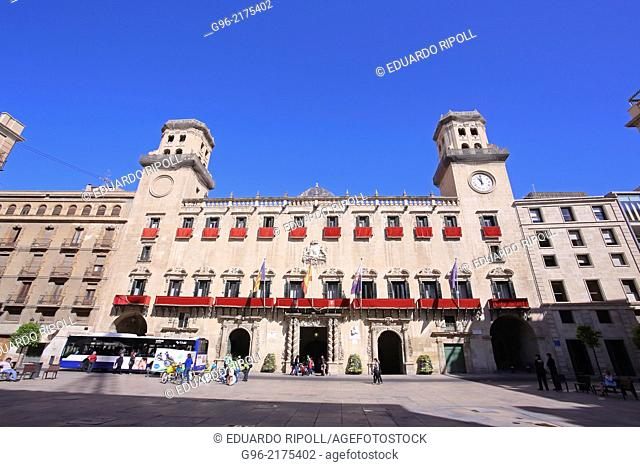Town hall of Alicante