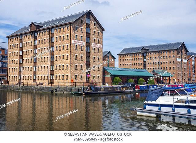 Gloucester Docks, Gloucester, England, United Kingdom, Europe