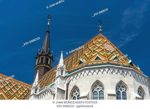 Matthias Church. Budapest Hungary