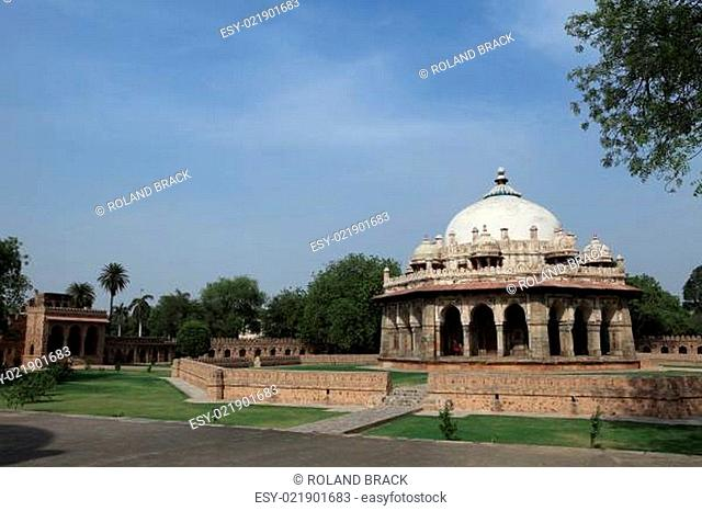 Humayun Tomb Gardens in Dehli Indien