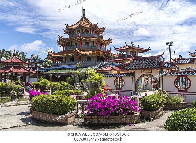 Chinese temple at Beliong, Sarawak, Malaysia