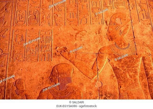 Egyptian art,Sunken-relief,detail,Egypt