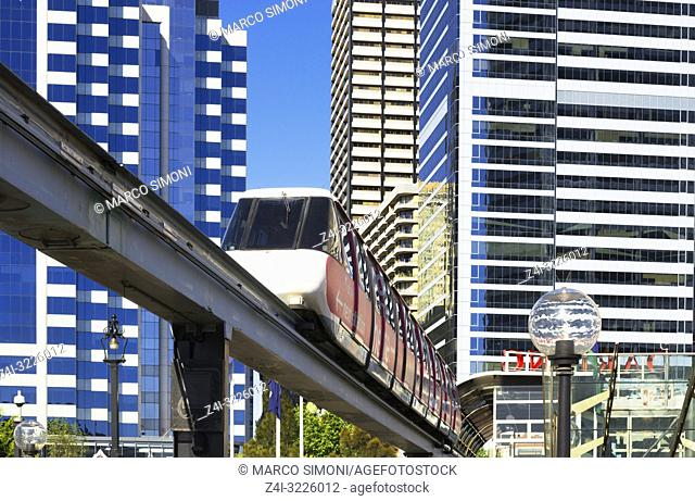 Monorail, Sydney, New South Wales, Australia,