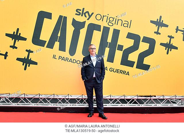 Luke Davies during 'Catch-22' TV show photocall, Rome, Italy - 13 May 2019