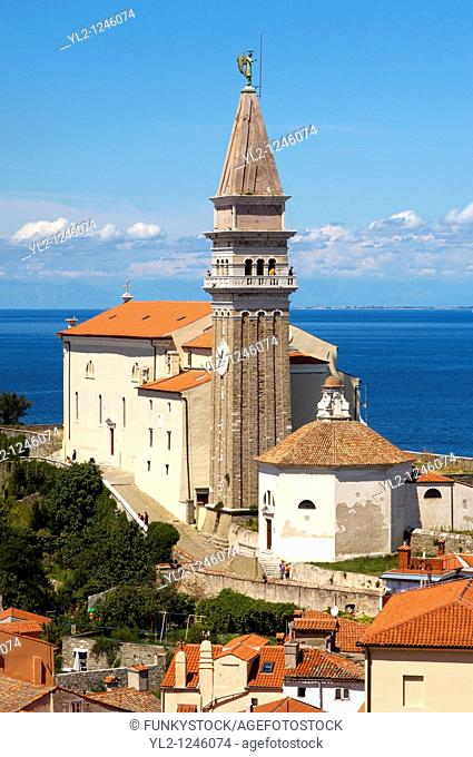 St George Church  Piran , Slovenia