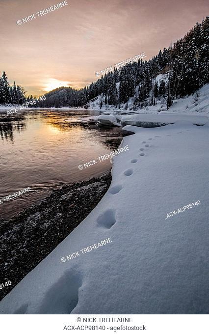 Nechako River, Prince George, British Columbia