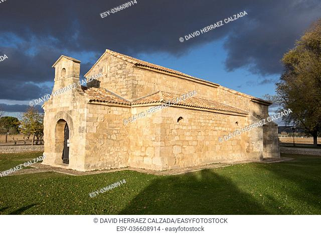 St. Juan church is the oldest spanish church dated from seventh century, Palencia, Spain