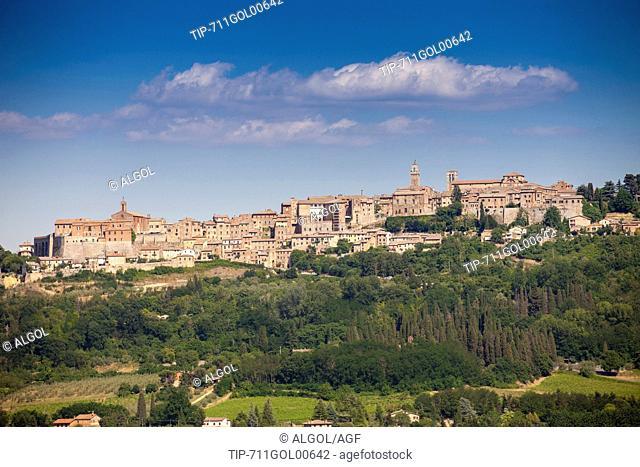 Italy, Tuscany, Montepulciano city