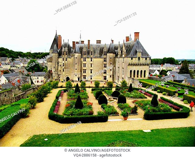 France, Indre et Loire, Loire Valley listed as World Heritage by UNESCO, Langeais, Chateau de Langeais
