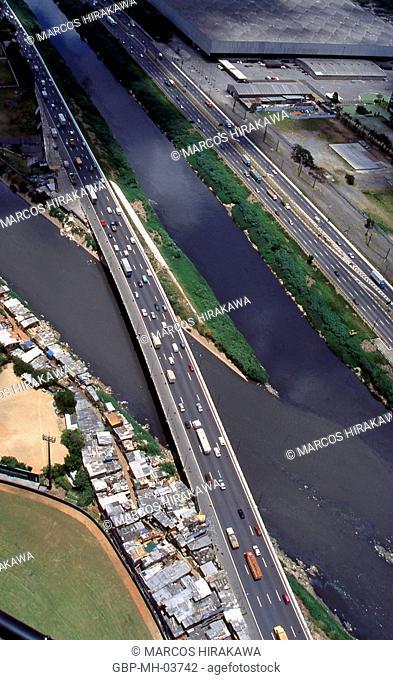 Marginal Tietê; Sao Paulo; Brazil