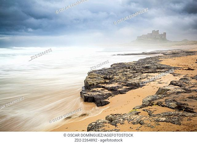 Bamburgh Castle. Northumberland. England. United Kingdom
