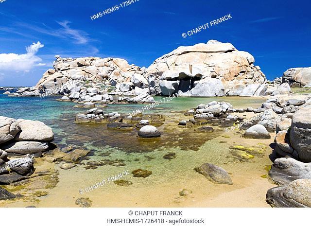 France, Corse du Sud, Lavezzi Islands, Cala della Chiesa